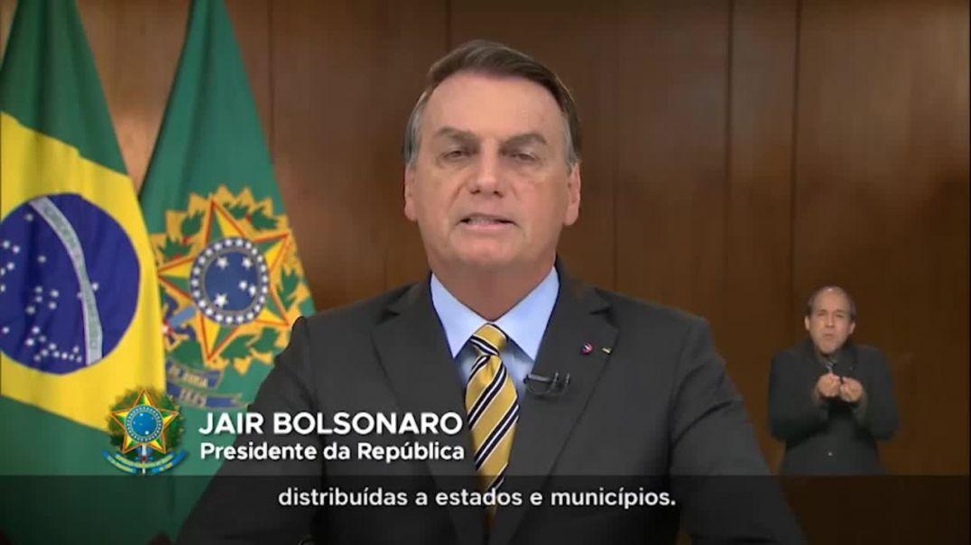 Presidente Jair Messias Bolsonaro Pronunciamento à Nação
