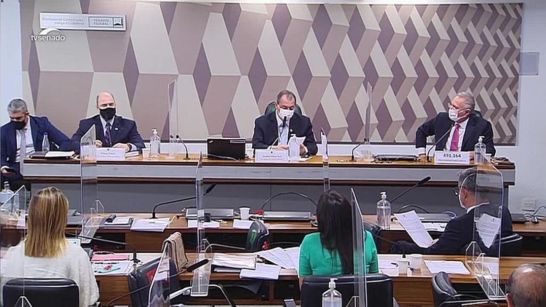 URGENTE! Flávio Bolsonaro é atacado na CPI e rebate Wilson Witzel e Renan Calheiros