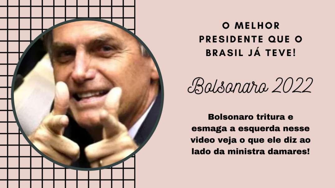 Bolsonaro tritura e esmaga a esquerda nesse video | Não deixe de assistir