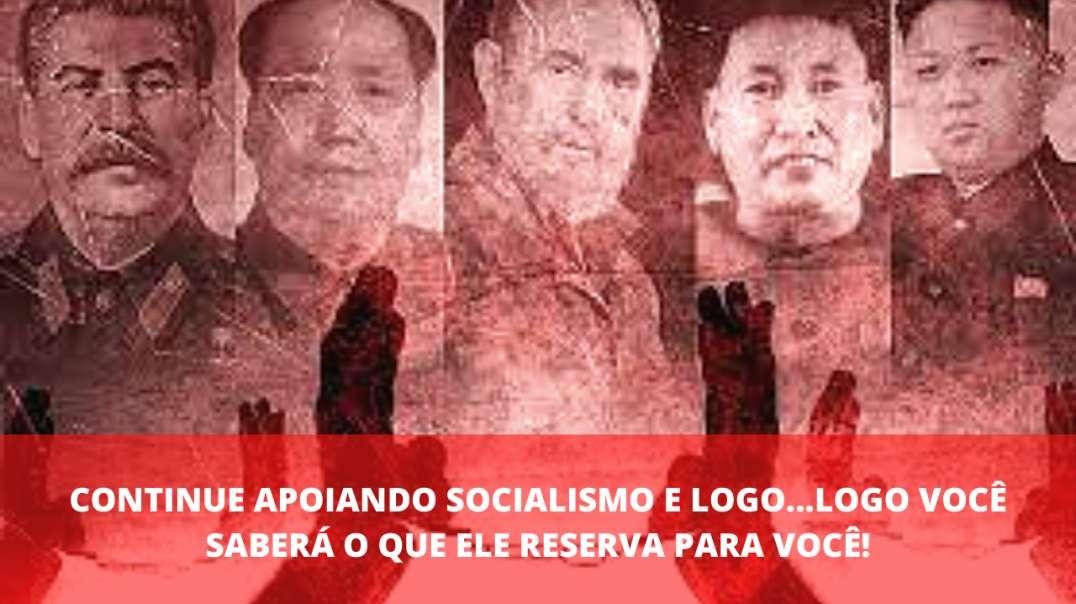 PRA QUEM AINDA NÃO ENTENDEU O QUÃO NOCIVO É O SOCIALISMO