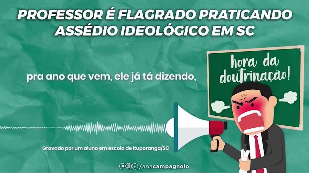 Doutrinação contra Bolsonaro continua nas escolas