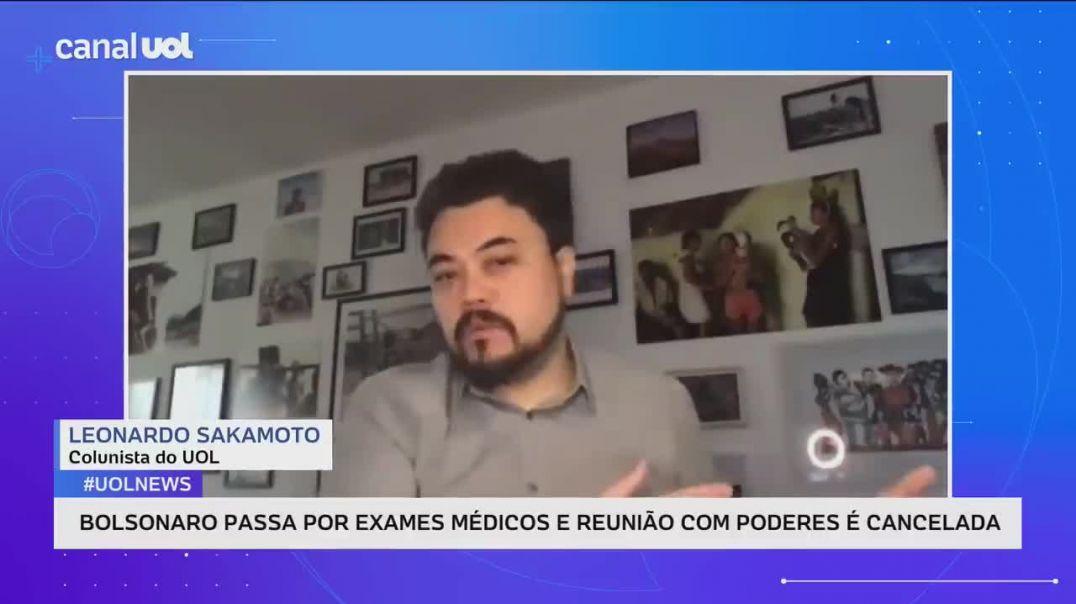 Saúde de Bolsonaro é de interesse público, precisa ter transparência _ Sakamoto e Josias de Souza